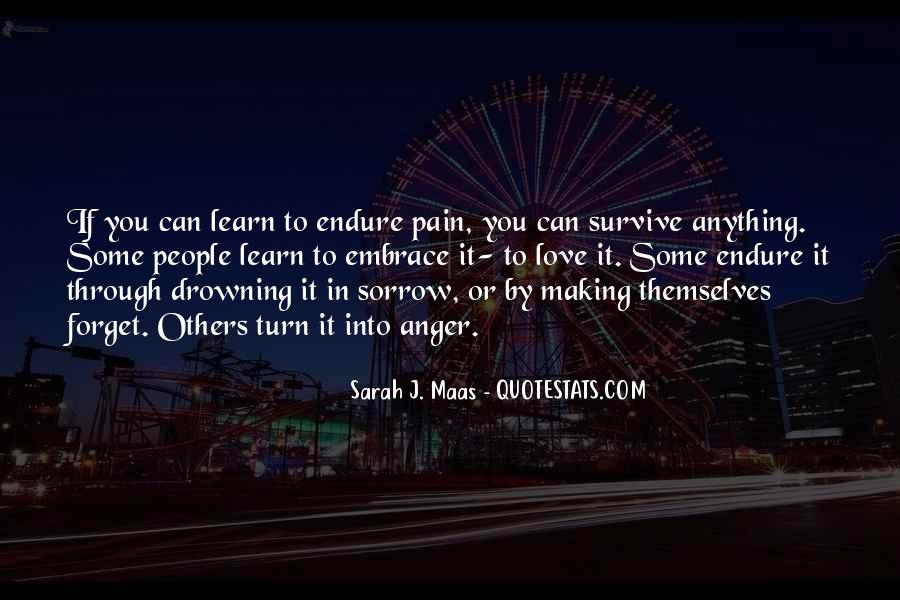 Learn To Endure Quotes #200863