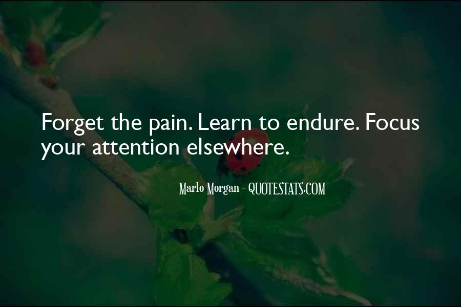 Learn To Endure Quotes #275977