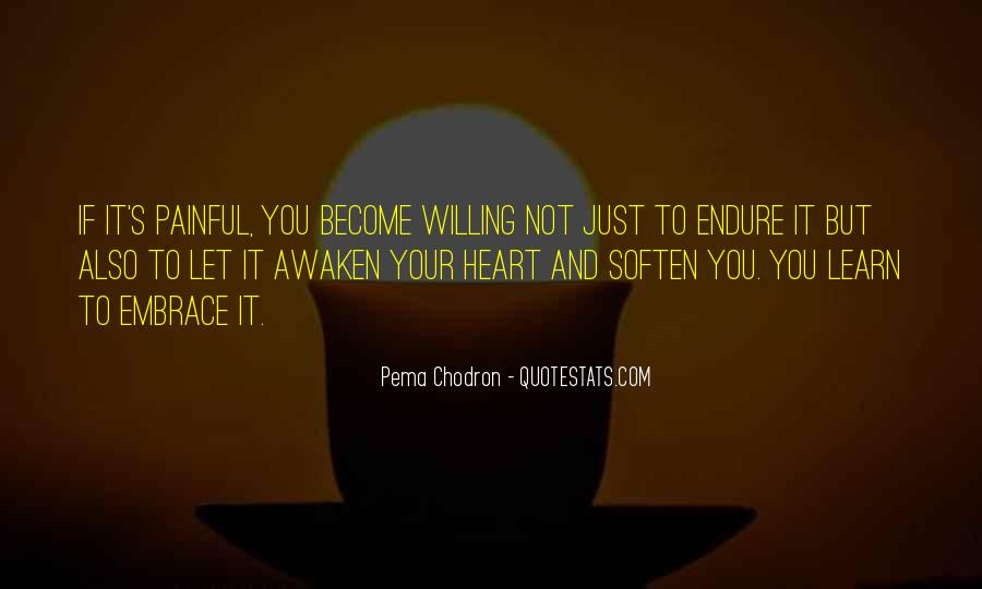 Learn To Endure Quotes #333690
