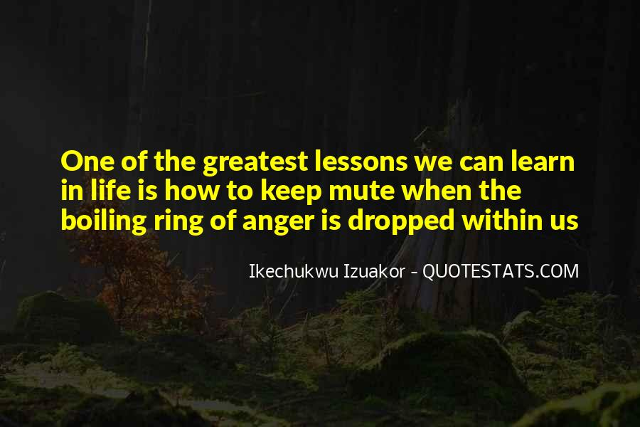 Learn To Keep Quiet Quotes #1030776