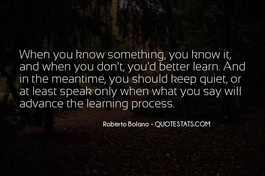 Learn To Keep Quiet Quotes #210915