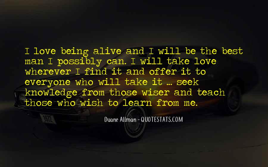 Learn To Love Me Quotes #1079358