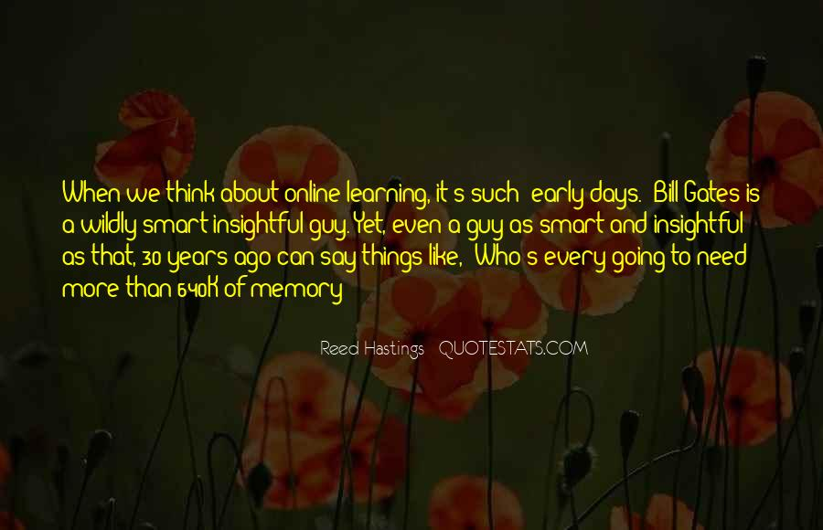 Learning And Memory Quotes #1326063