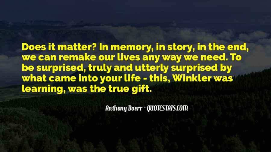 Learning And Memory Quotes #1667739