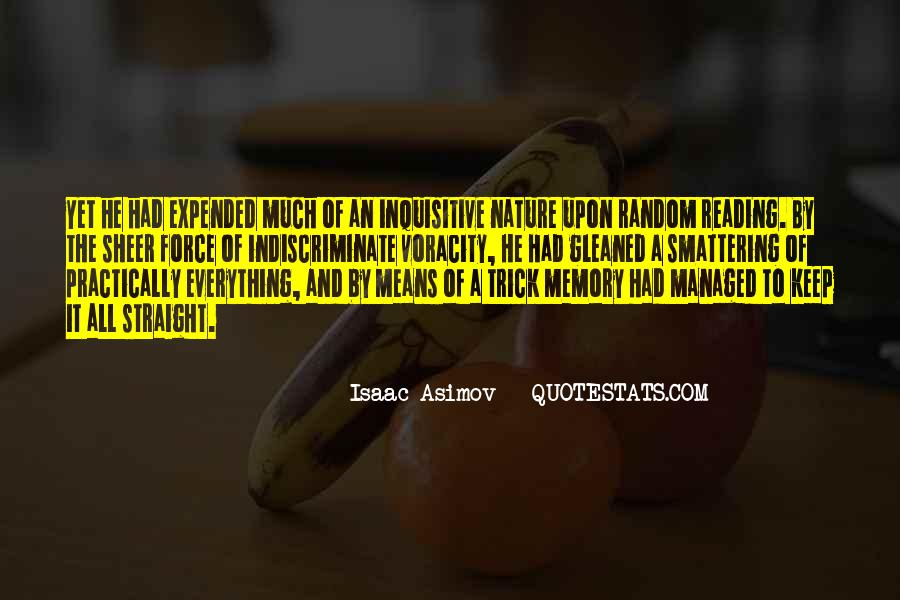 Learning And Memory Quotes #1751127