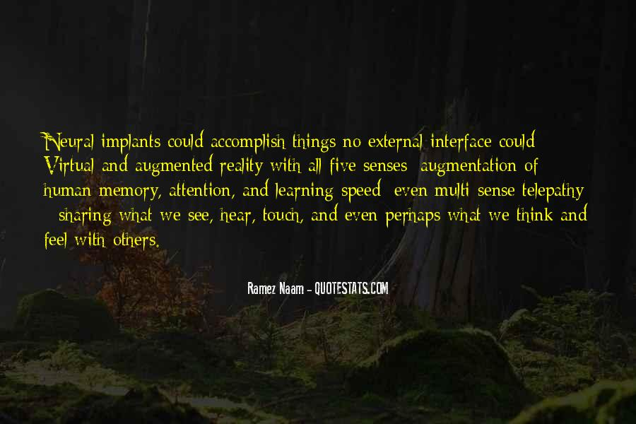 Learning And Memory Quotes #1854915