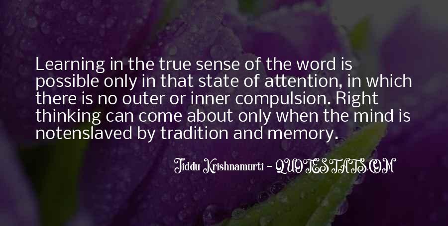 Learning And Memory Quotes #1870272
