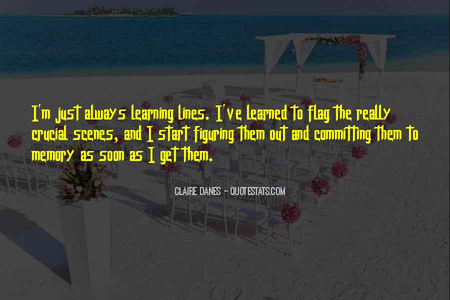 Learning And Memory Quotes #722887