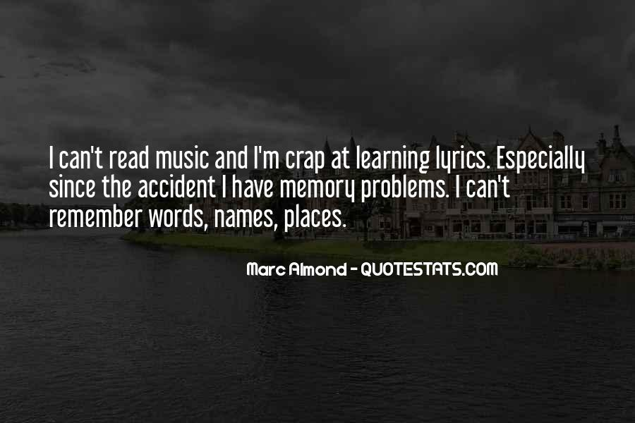 Learning And Memory Quotes #82654