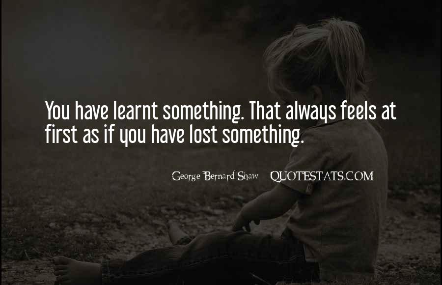 Learnt Quotes #225523