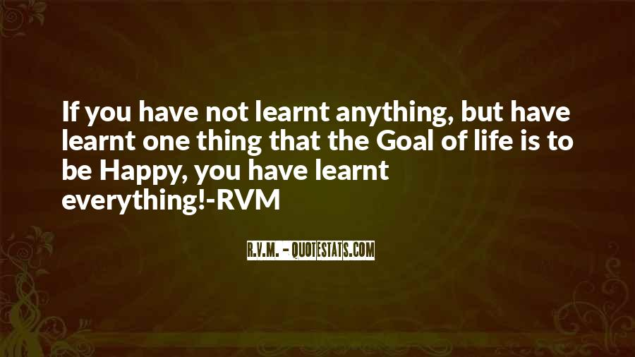 Learnt Quotes #226373