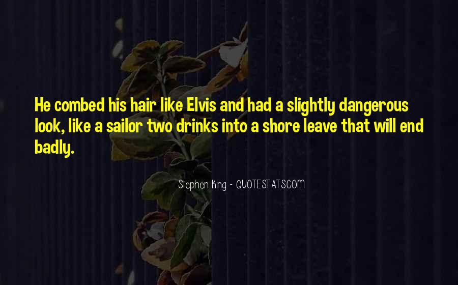 Leave The Shore Quotes #153340