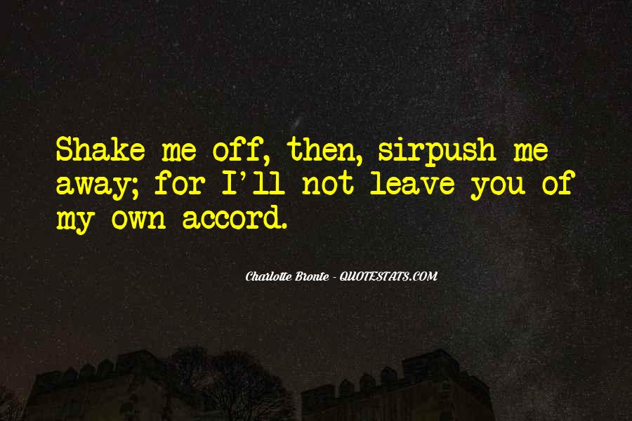 Leave You Quotes #15480