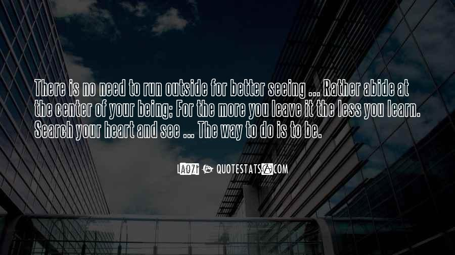 Leave You Quotes #20059