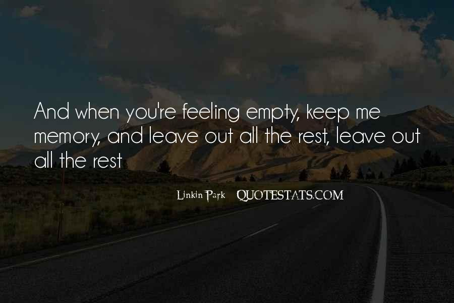 Leave You Quotes #21583