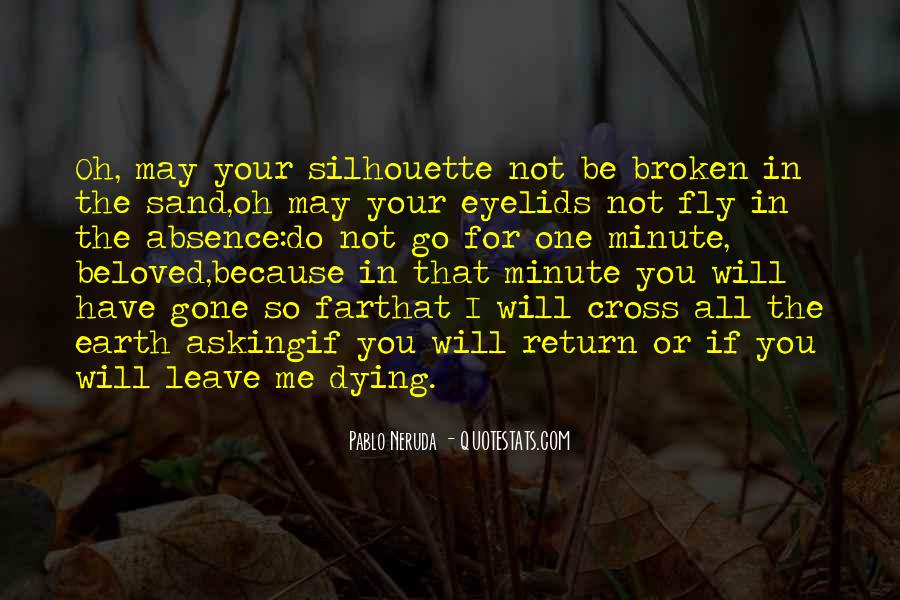 Leave You Quotes #22310