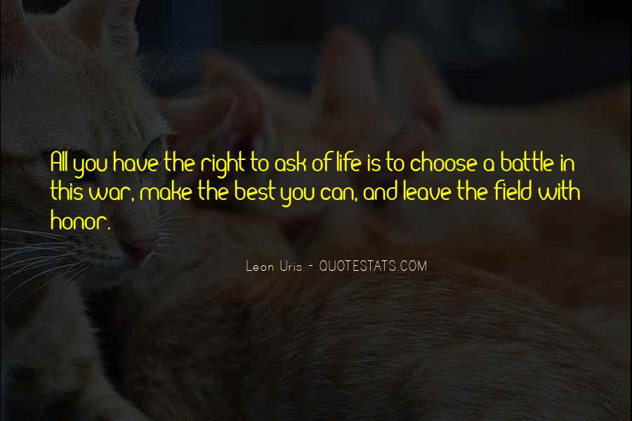 Leave You Quotes #25186