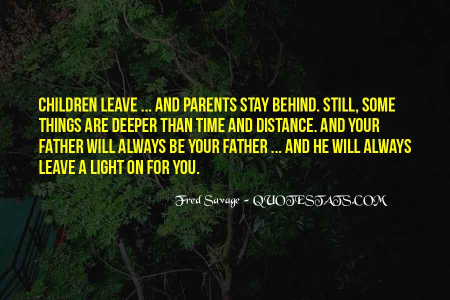 Leave You Quotes #28656