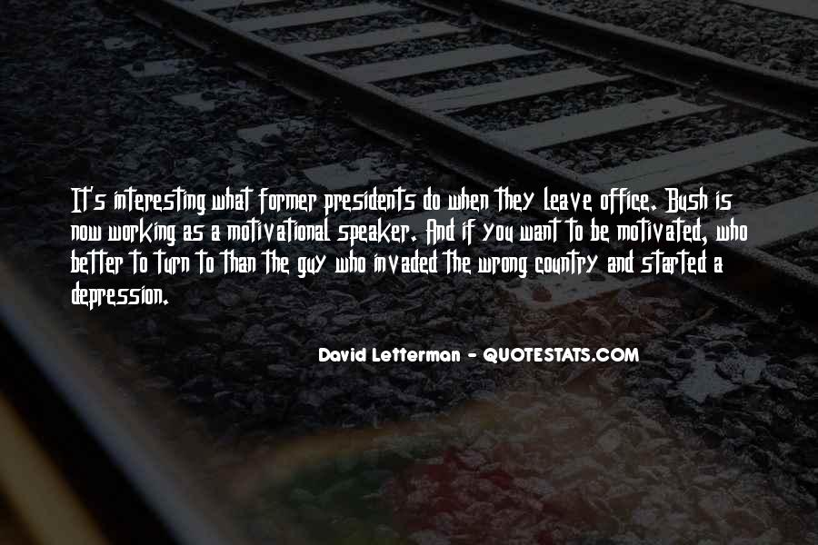 Leave You Quotes #45277