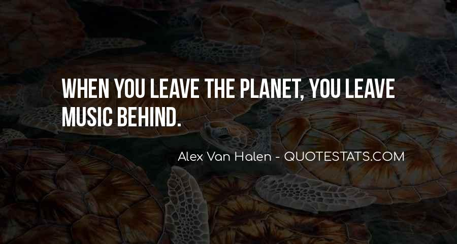 Leave You Quotes #4949
