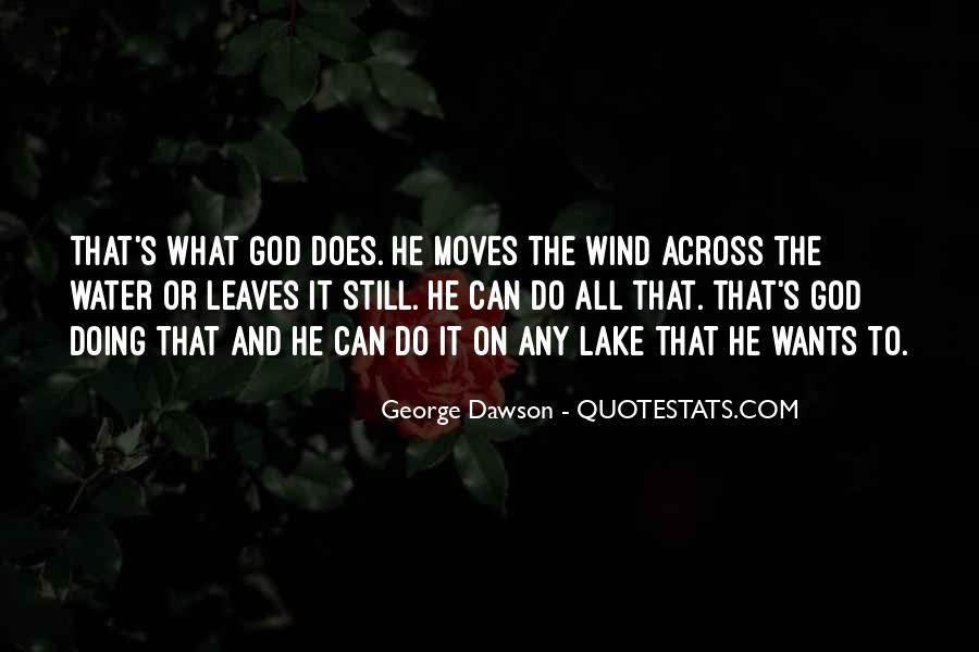 Leaves And Water Quotes #1039453