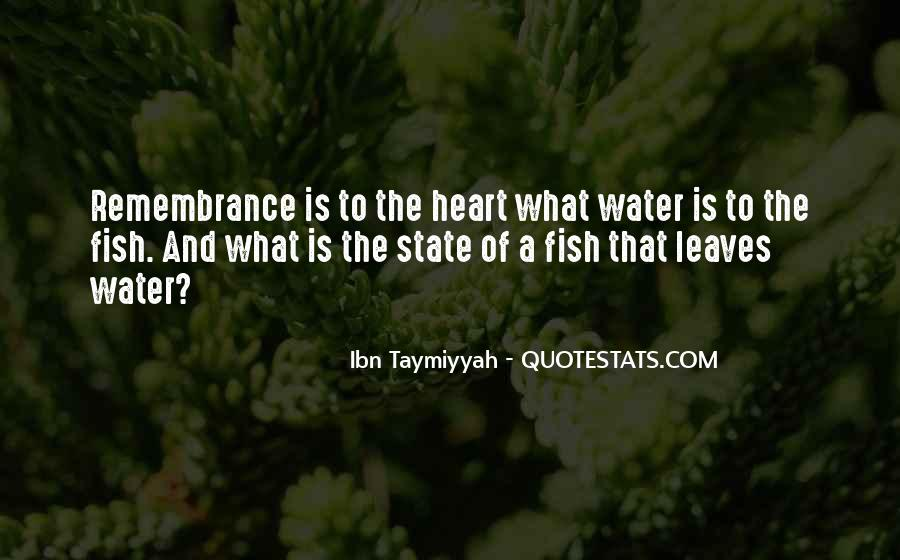 Leaves And Water Quotes #204839