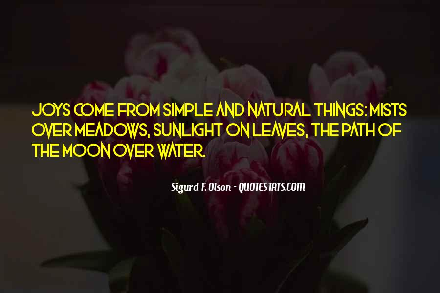 Leaves And Water Quotes #220722