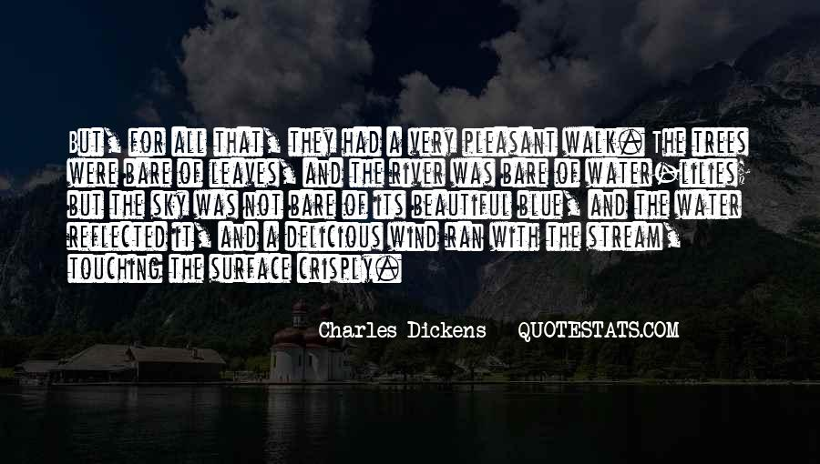 Leaves And Water Quotes #460303