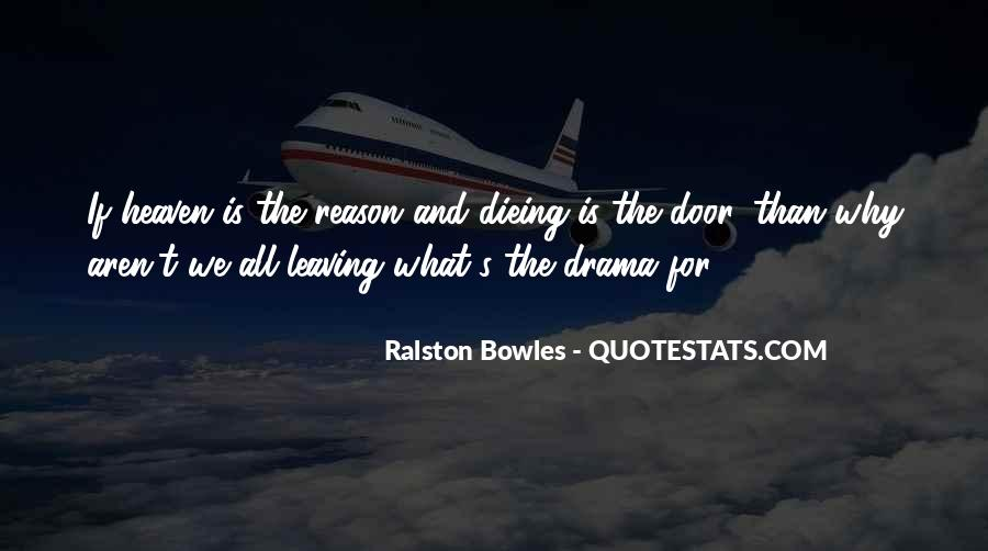 Leaving Me Without A Reason Quotes #1581226
