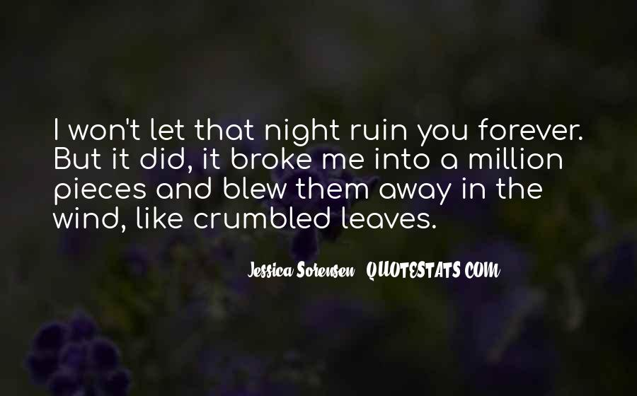 Leaving The Man You Love Quotes #135570
