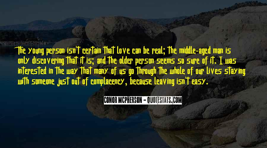 Leaving The Person You Love Quotes #1495052