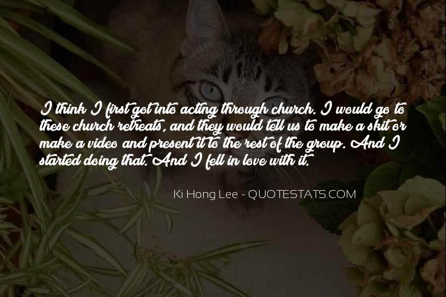 Lee Hong Ki Quotes #205958