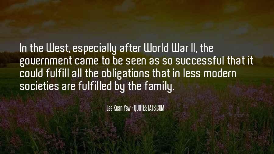 Lee Kuan Yew's Quotes #1288523
