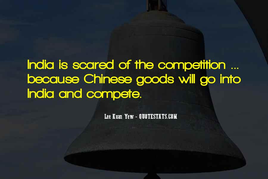 Lee Kuan Yew's Quotes #147012