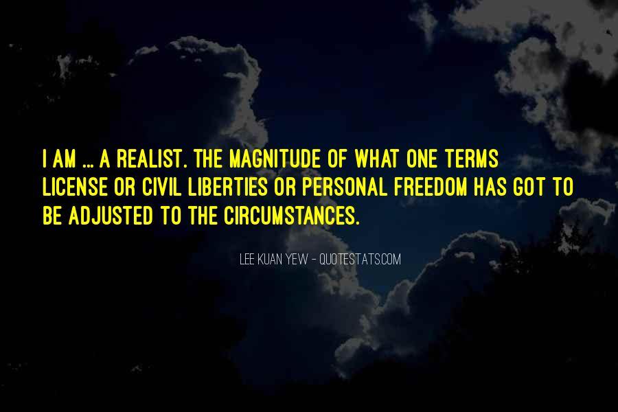 Lee Kuan Yew's Quotes #1588214