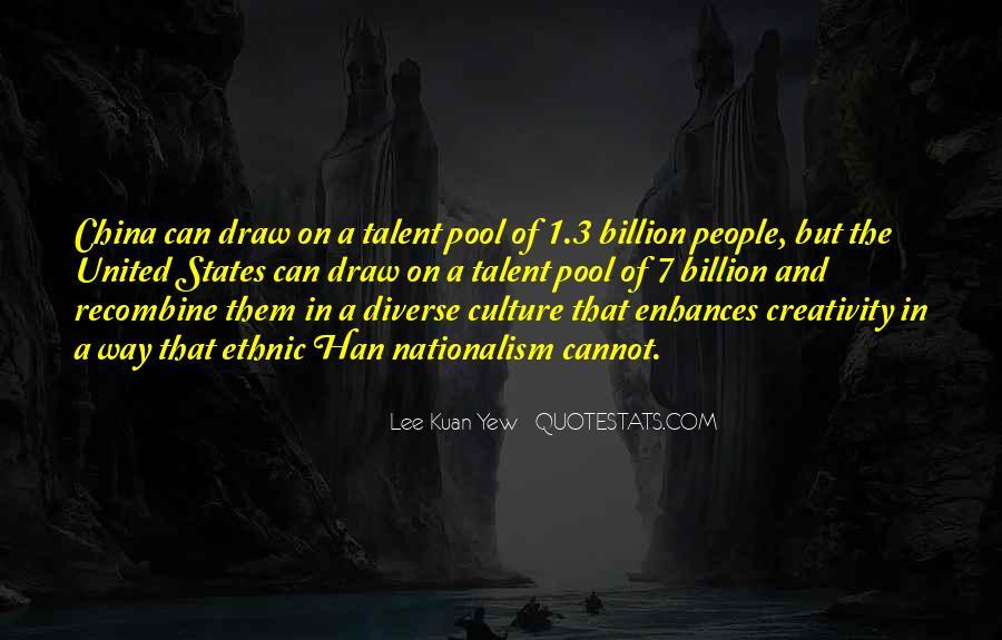 Lee Kuan Yew's Quotes #1628862