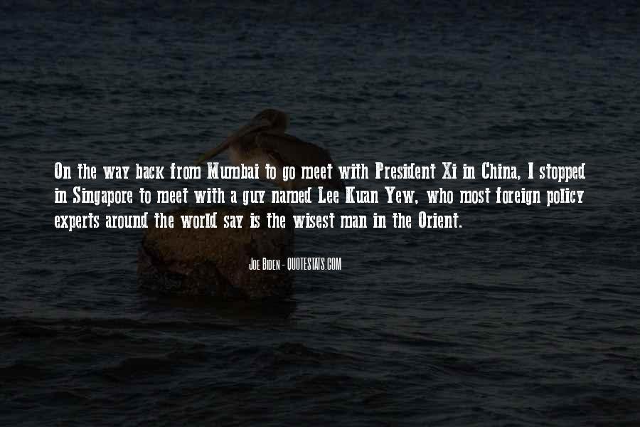 Lee Kuan Yew's Quotes #1633377