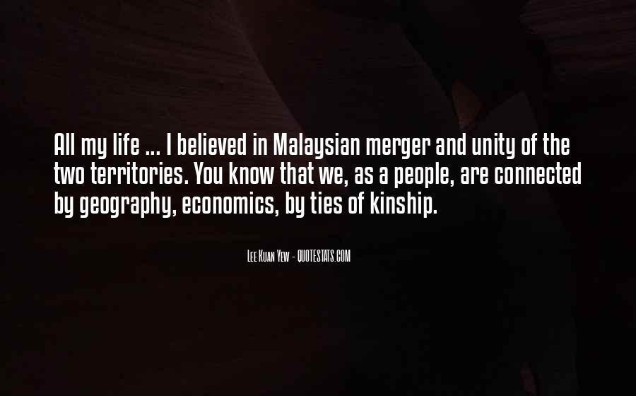 Lee Kuan Yew's Quotes #1666189