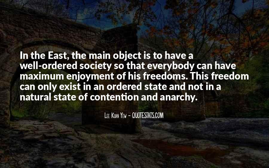 Lee Kuan Yew's Quotes #1697643