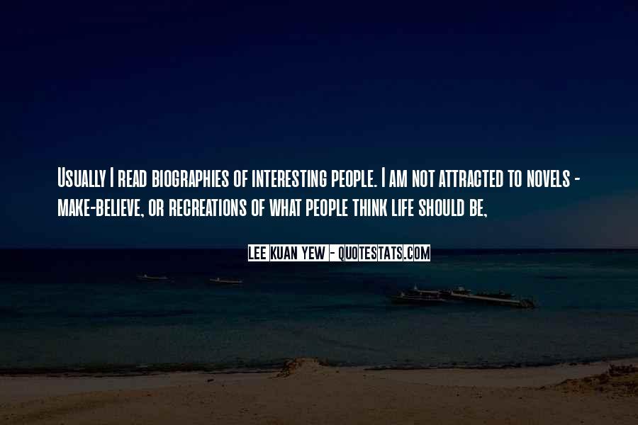 Lee Kuan Yew's Quotes #1787405