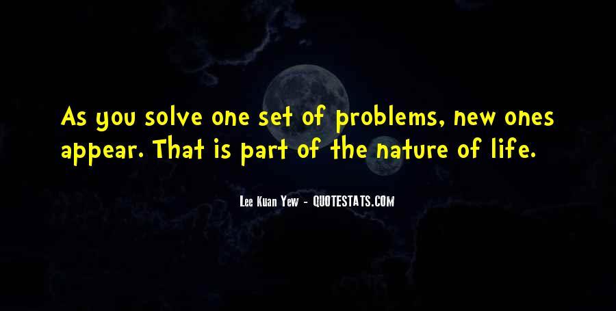 Lee Kuan Yew's Quotes #1813284
