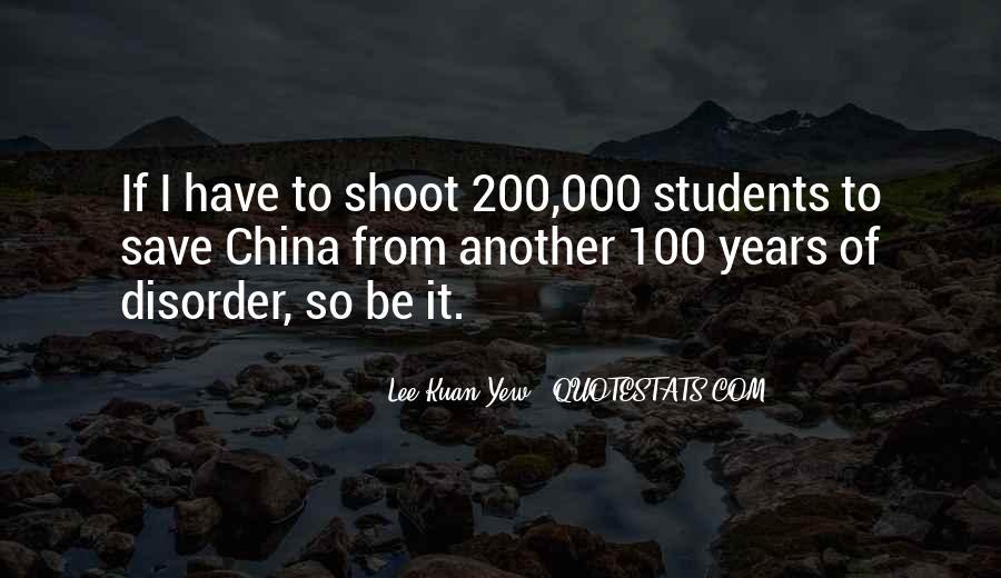Lee Kuan Yew's Quotes #273891