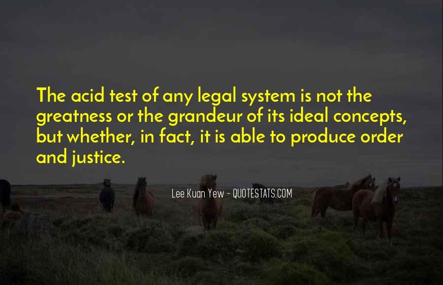 Lee Kuan Yew's Quotes #304192
