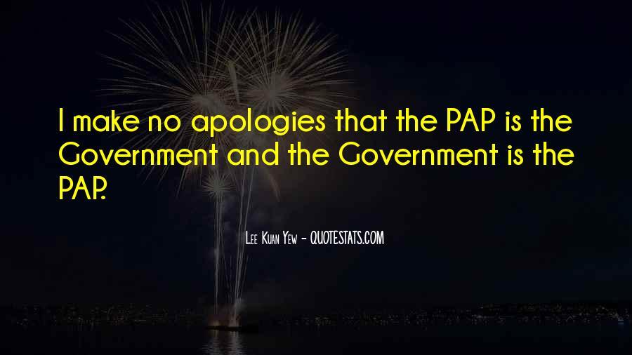 Lee Kuan Yew's Quotes #373026