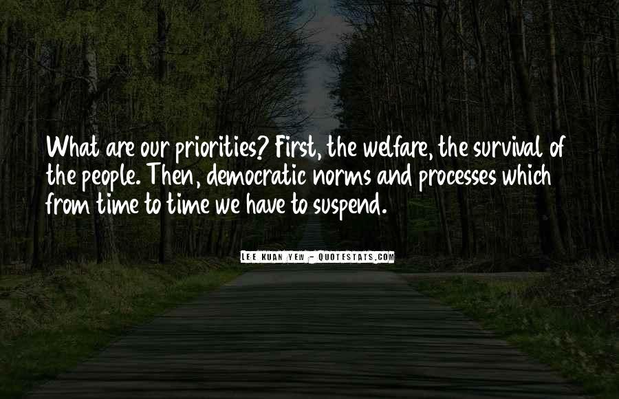 Lee Kuan Yew's Quotes #531023