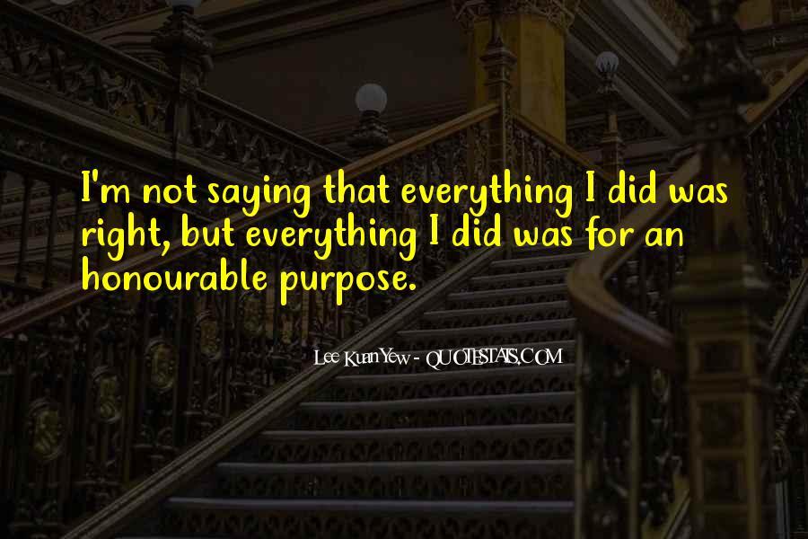 Lee Kuan Yew's Quotes #589382