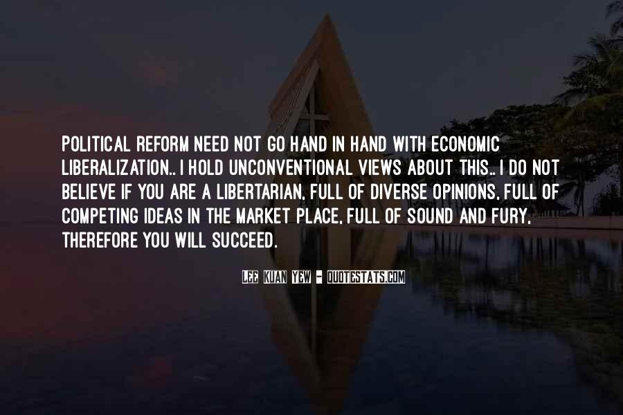 Lee Kuan Yew's Quotes #602331