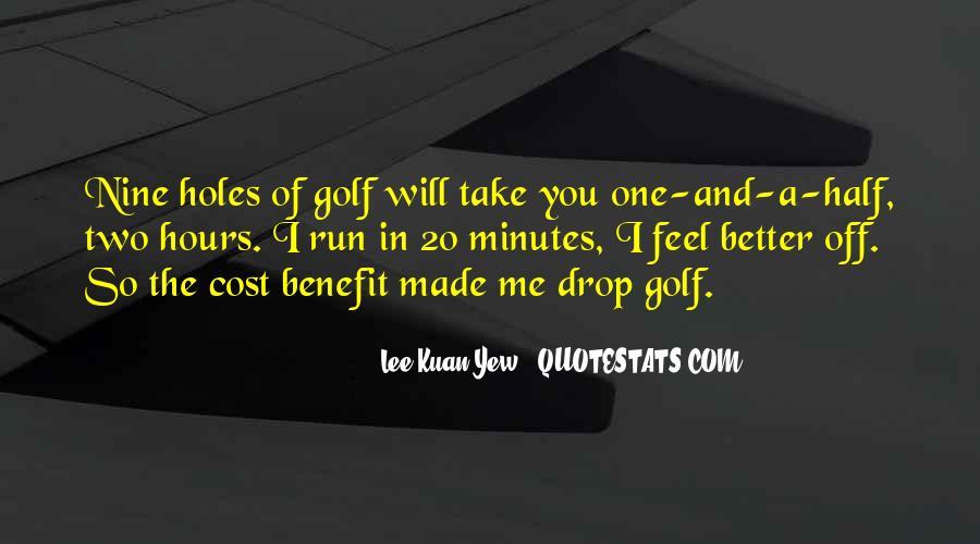 Lee Kuan Yew's Quotes #821748