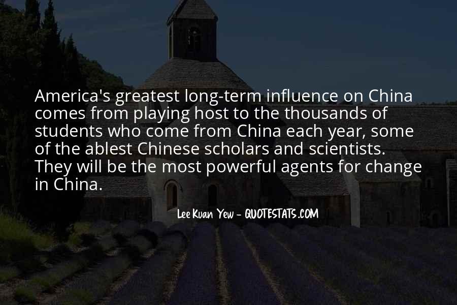 Lee Kuan Yew's Quotes #996363