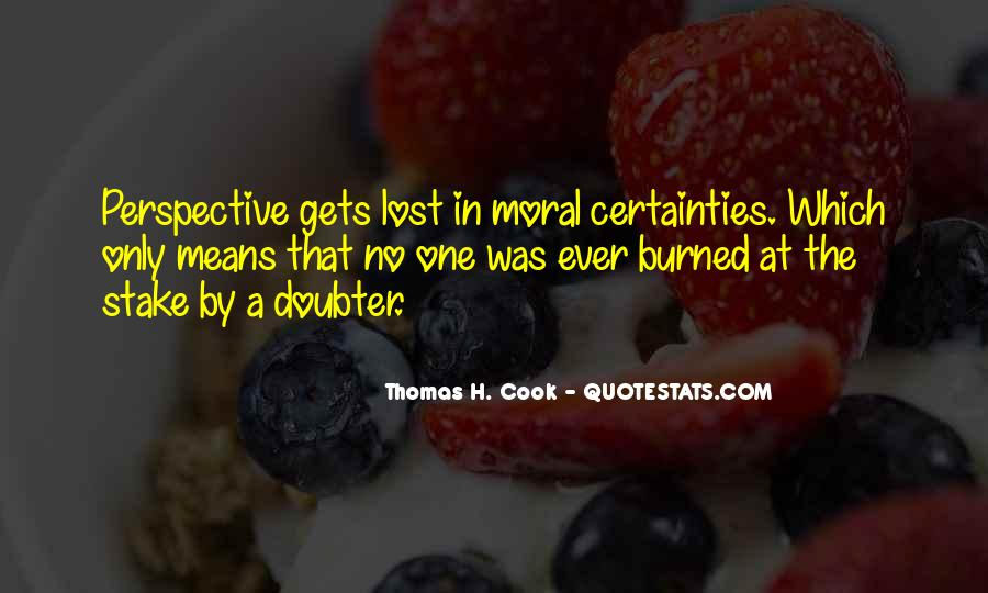 Quotes About Doubter #1107495